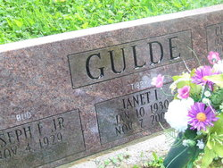 """Janet Irene """"Tibby"""" <I>Dearinger</I> Gulde"""