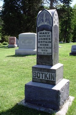 Mary <I>Williams</I> Botkin