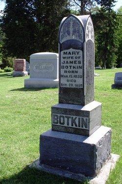 Mary <I>Williams</I> Botkin