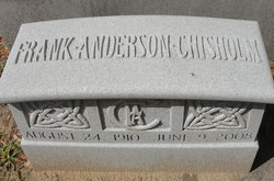 Frank Anderson Chisholm