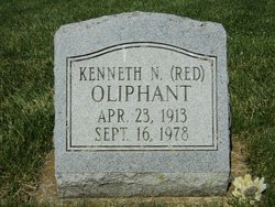 "Kenneth Nolan ""Red"" Oliphant"