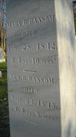 Mary R Ransom