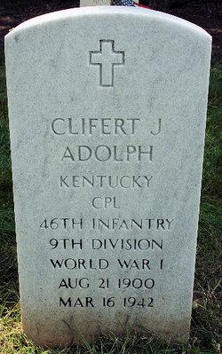 Clifert J Adolph