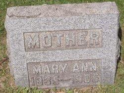 Mary Ann <I>Bowers</I> Baughman