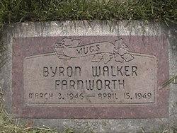 """Byron Walker """"Mugs"""" Farnworth"""