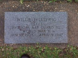 Willie F Ludwig