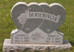 Maude E. <I>Duncan</I> Durschinger