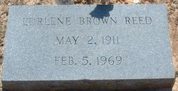Lurlene <I>Brown</I> Reed