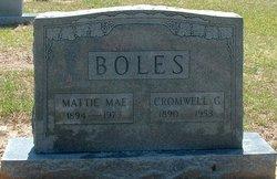 Mattie Mae <I>Jackson</I> Boles