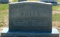 Virginia Annette <I>Holman</I> Boles