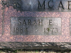 Sarah Eva <I>Gephart</I> McAboy