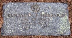 Benjamin Franklin Hubbard