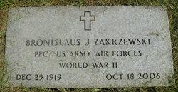 Bronislaus J Zakrzewski