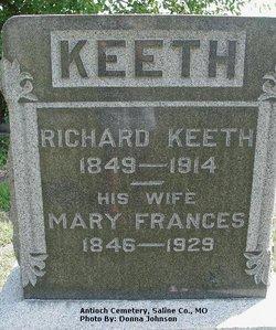 Mary Frances <I>Elliott</I> Keeth