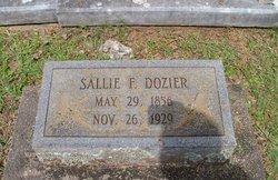 Sallie F Dozier