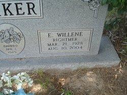 E. Willene <I>Rightmer</I> Parker