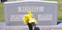 Ruby Maye <I>Hopkins</I> Russell