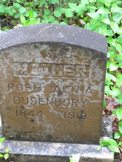 Rose Altha <I>Polhemus</I> Dusenbury