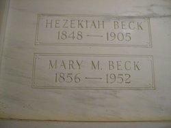 Mary Margaret <I>Dillman</I> Beck