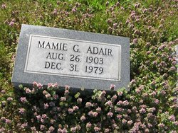 Mamie <I>Grayson</I> Adair