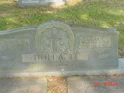 Laura Ellen <I>Goff</I> Holland