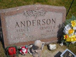 "Ernest F ""Buck"" Anderson, Jr"