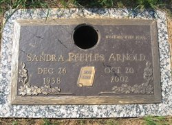 Sandra <I>Peeples</I> Arnold