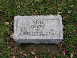 """Joseph Dewey """"Dewey"""" Weller"""