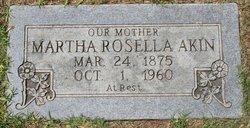 Martha Rosella <I>Turner</I> Akin