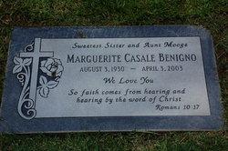 Marguerite <I>Casale</I> Benigno