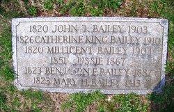 Benjamin F Bailey