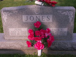 June <I>Chesterson</I> Jones