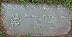 "Barbara ""Barb"" <I>Durschinger</I> Winterburn"