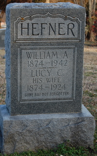 Lucy Cora <I>Sidwell</I> Hefner