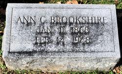 Ann <I>Cooper</I> Brookshire