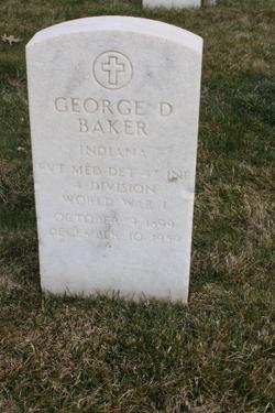 George D Baker