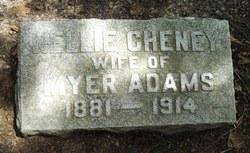 Nellie <I>Cheney</I> Adams