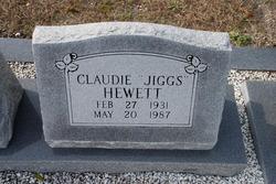 """Claudie Carvin """"Jiggs"""" Hewett"""