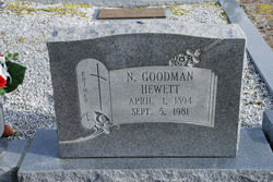 Newman Goodman Hewett, Sr