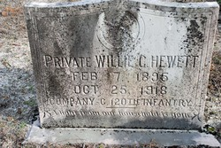 Pvt Willie Cross Hewett
