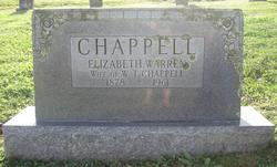 Elizabeth <I>Warren</I> Chappell