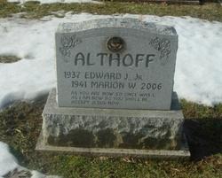 Marion W. <I>Speelman</I> Althoff
