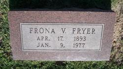 Frona V. Fryer