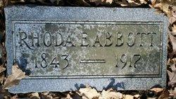 Rhoda Elvira <I>Kelly</I> Abbott