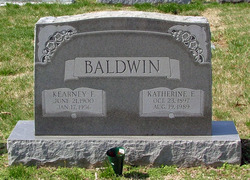 "Kearney Fitzgerald ""Connie"" Baldwin, Sr"