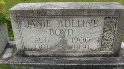 Janie Adeline <I>Tarpley</I> Boyd