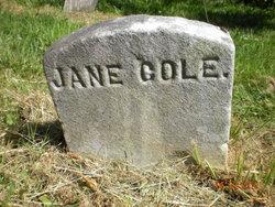 Jane <I>Gamel</I> Cole