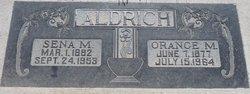 Orange Melvin Aldrich