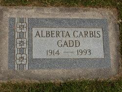 Alberta Grace <I>Carbis</I> Gadd