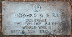 PVT Howard Wallace Hill